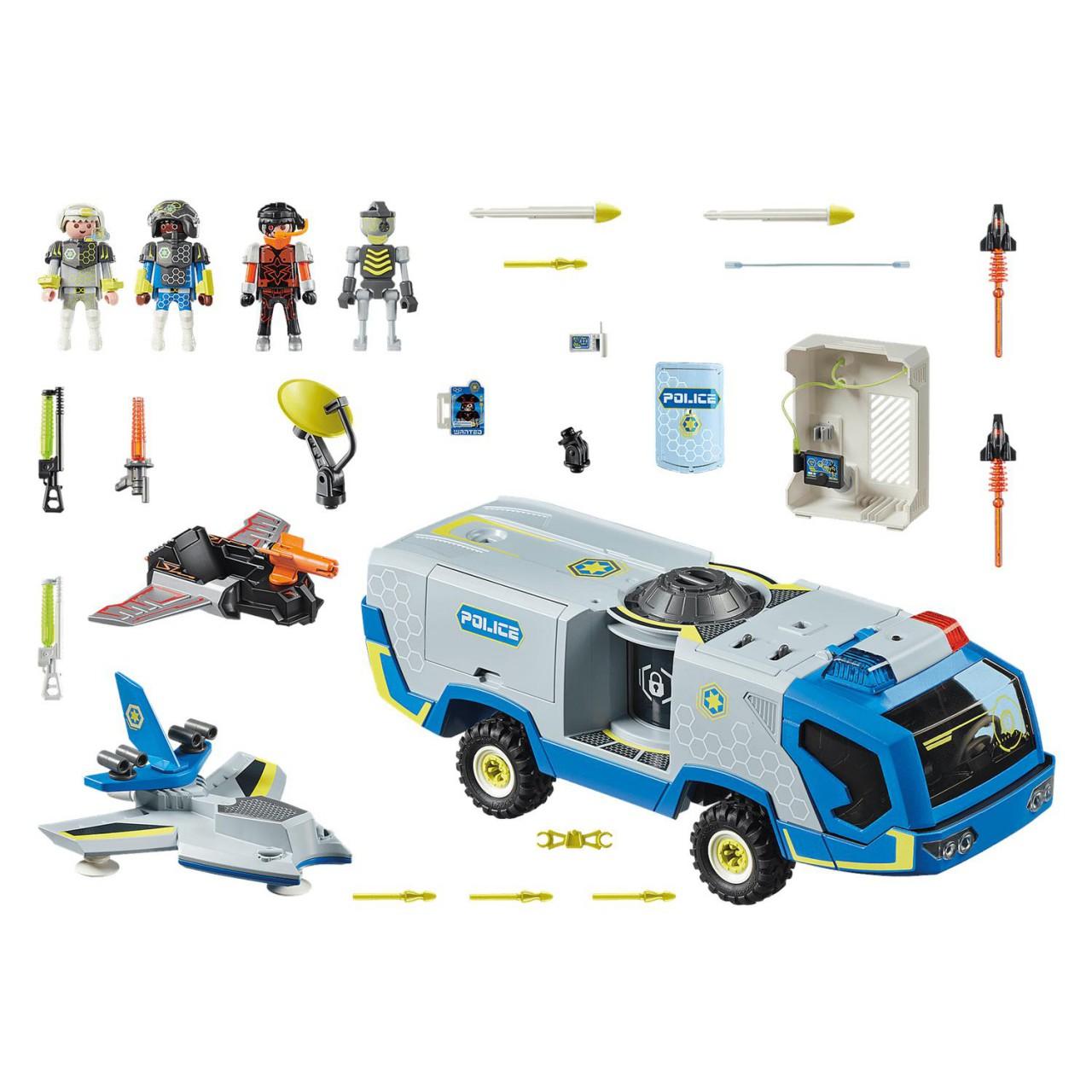 Playmobil 70018 Galaxy Police-Truck