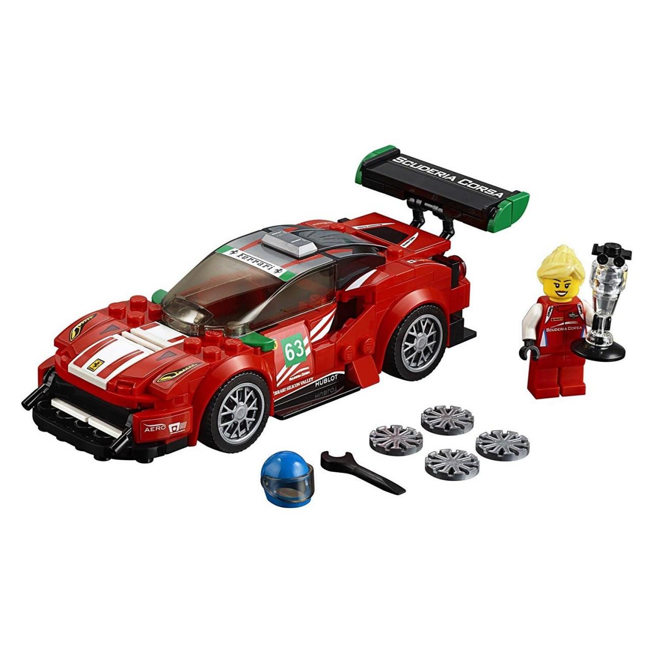 """LEGO SPEED CHAMPIONS 75886 Ferrari 488 GT3 """"Scuderia Corsa"""