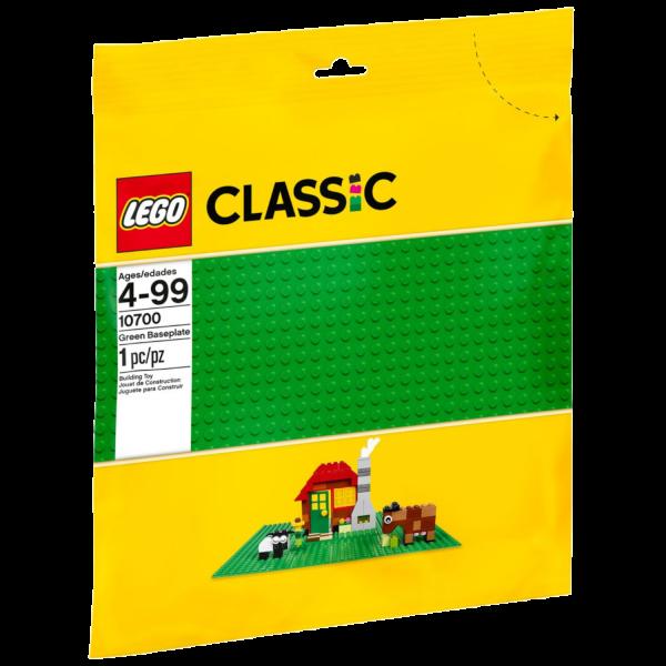 LEGO CLASSIC 10700 Grüne Bauplatte