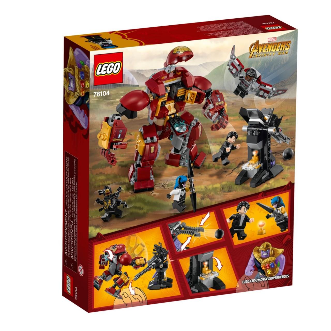 LEGO MARVEL SUPER HEROES 76104 Zerstörung des Hulkbuster