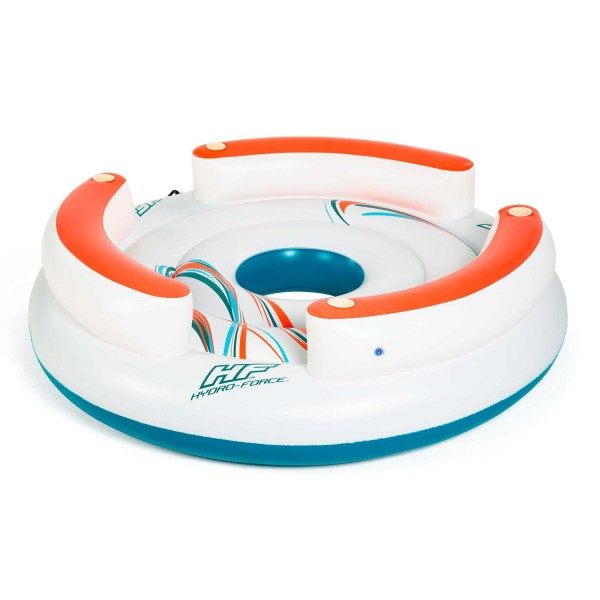 Bestway 43135 CoolerZ Schwimminsel Lazy Dayz 267x267x67cm
