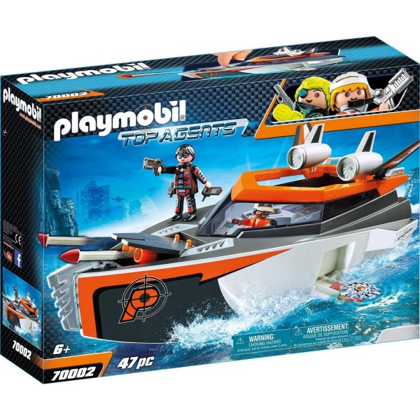 Playmobil 70002 SPY TEAM Turboship