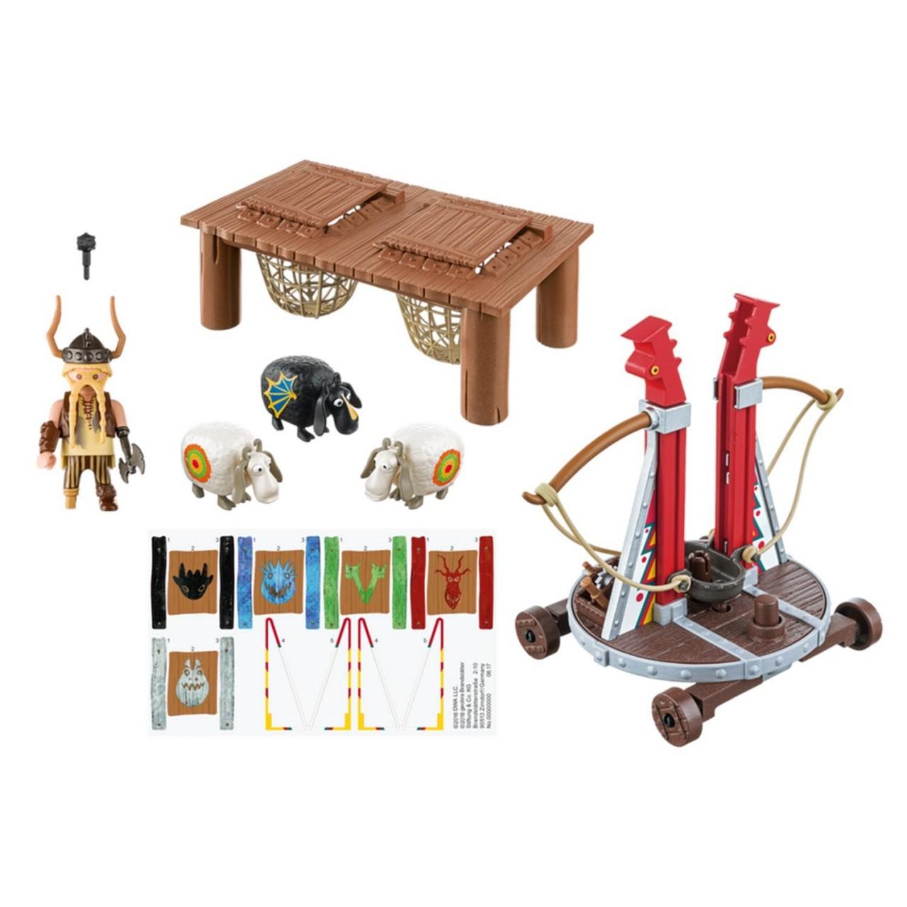 Playmobil 9461 Grobian mit Schafschleuder