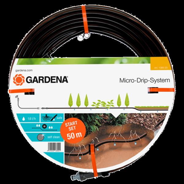 Gardena 1389-20 Tropfrohr unterirdisch 13,7mm Micro-Drip-System 50m 1,6 l/h