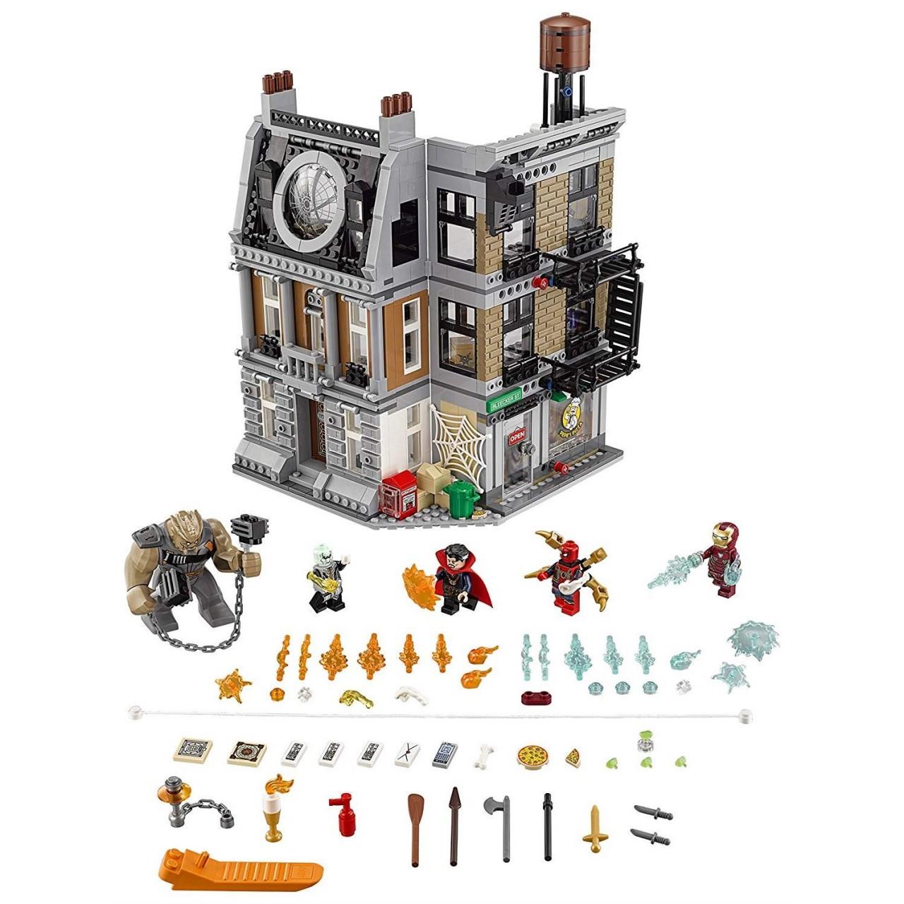 LEGO MARVEL SUPER HEROES 76108 Sanctum Sanctorum – die letzte Entscheidung