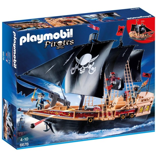 Playmobil 6678 Piraten-Kampfschiff