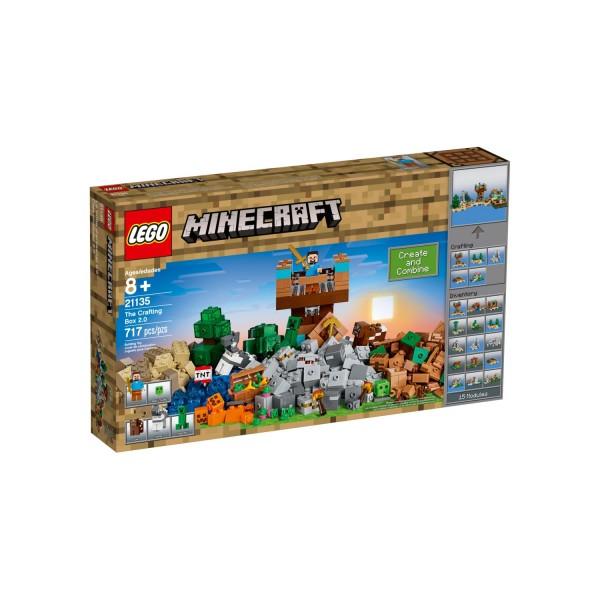 LEGO MINECRAFT 21135 Die Crafting-Box 2.0