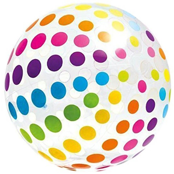 Intex Ball Groß Riesen Strandball gepunktet 183 cm 58097
