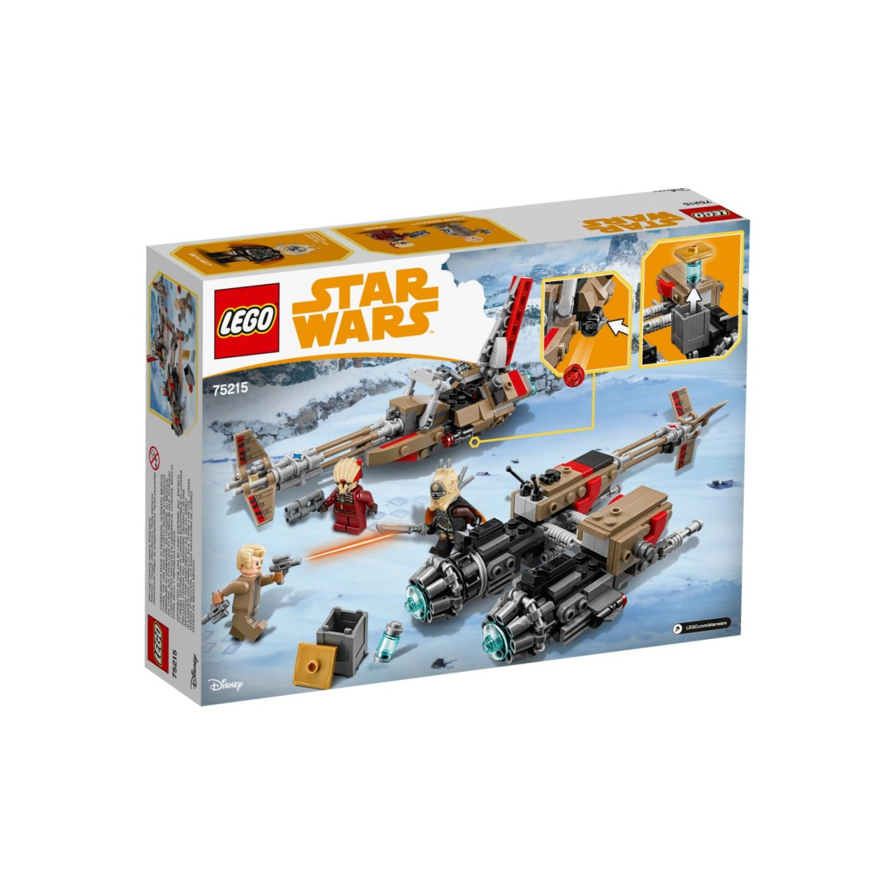 LEGO STAR WARS 75215 Cloud-Rider Swoop-Bikes