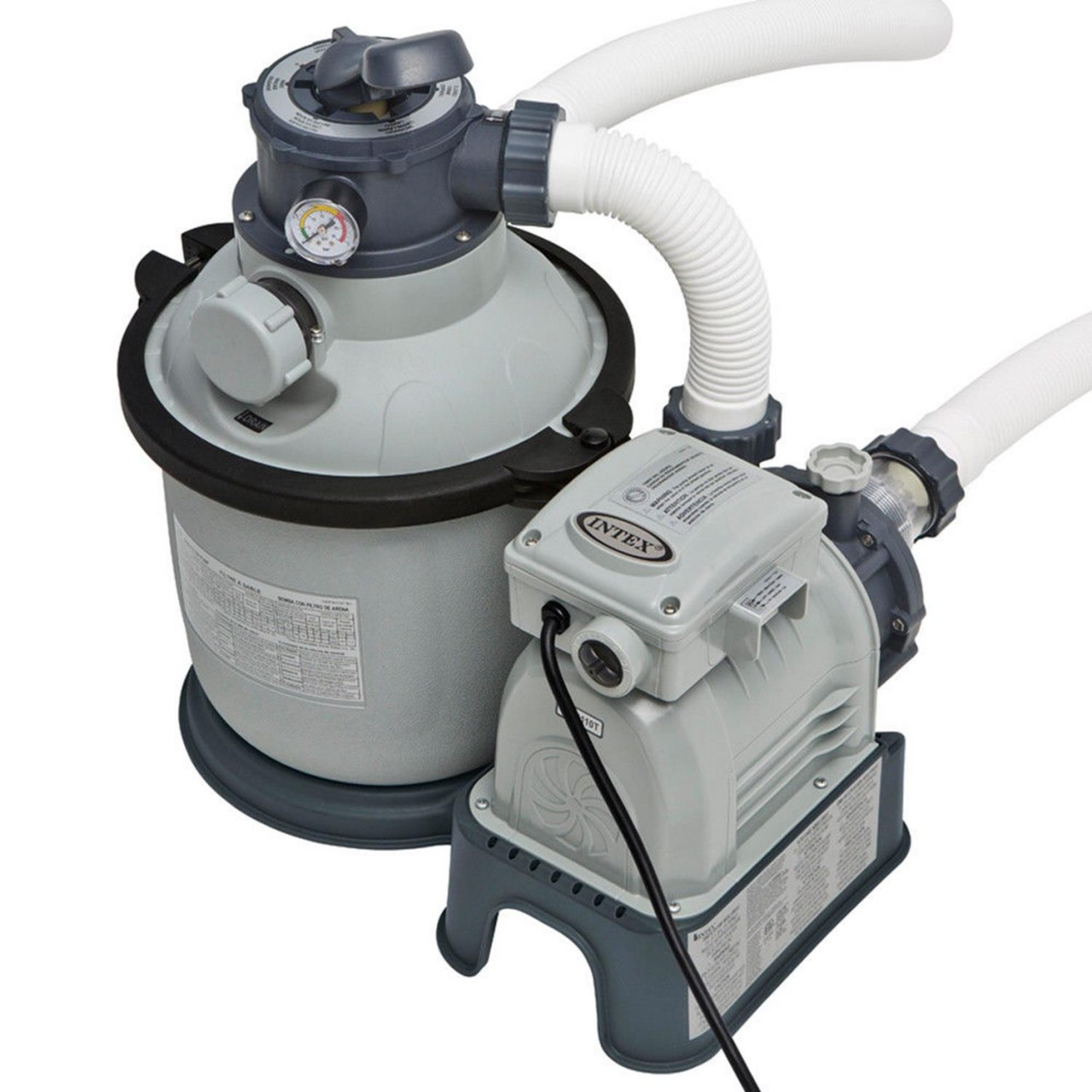 Intex 28644 Sandfilteranlage 4m³/h Filterpumpe 4000 l/h Filterkessel für Pool