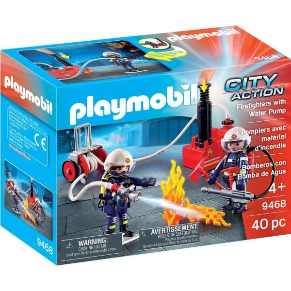 Playmobil 9468 Feuerwehrmänner mit Löschpumpe