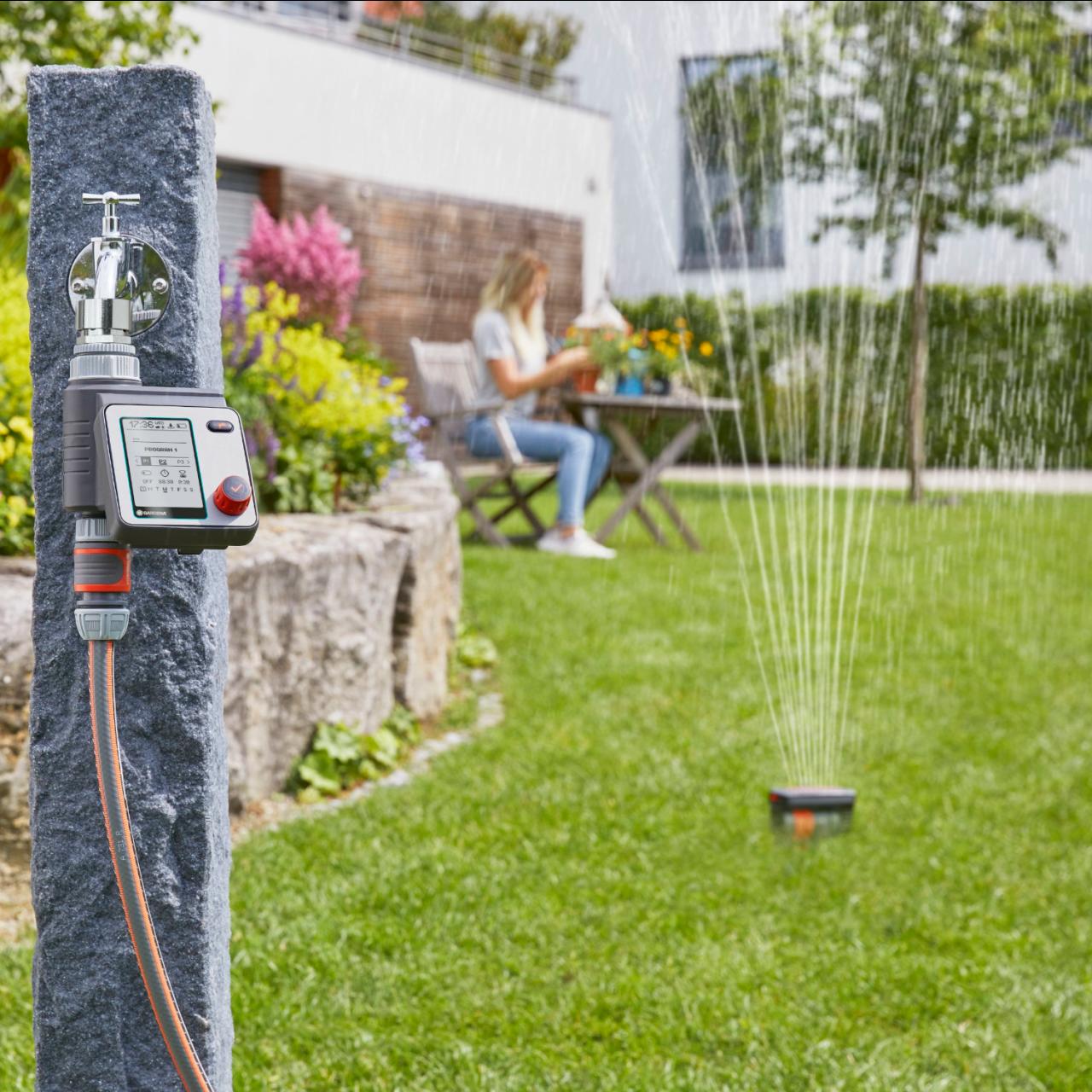Gardena 1892-20 Bewässerungssteuerung Master Bewässerungssystem Garten Steuerung