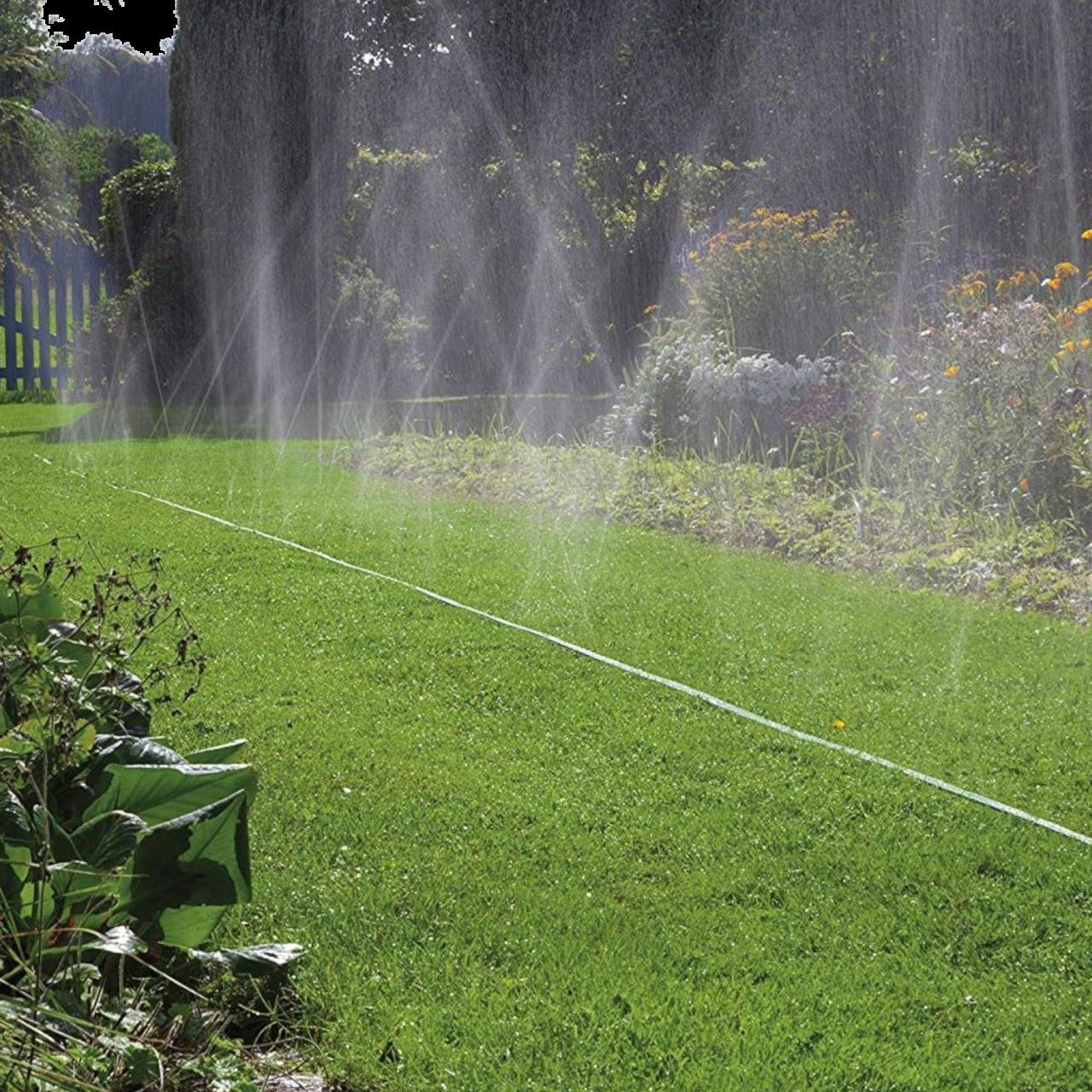 Gardena 1998-20 Schlauch-Regner Schlauch Sprühregner Bewässerung Sprenger 15m