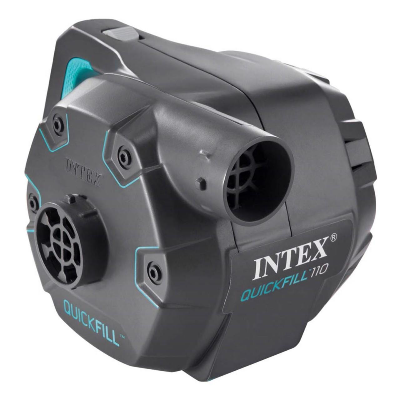 Intex 66644 Elektrische Luftpumpe für Matratze Luftbett Schlauchboot 230V Pumpe
