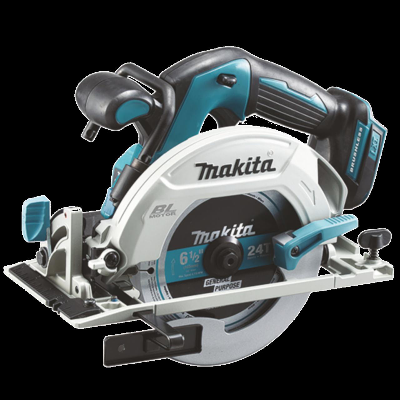Makita DHS680ZJ Akku-Handkreissäge im MAKPAC Gr. 3 inkl. Einlage, 18V, 57 mm, 5.000 min-1