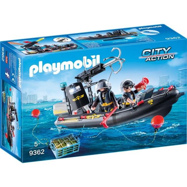 Playmobil 9362 SEK-Schlauchboot