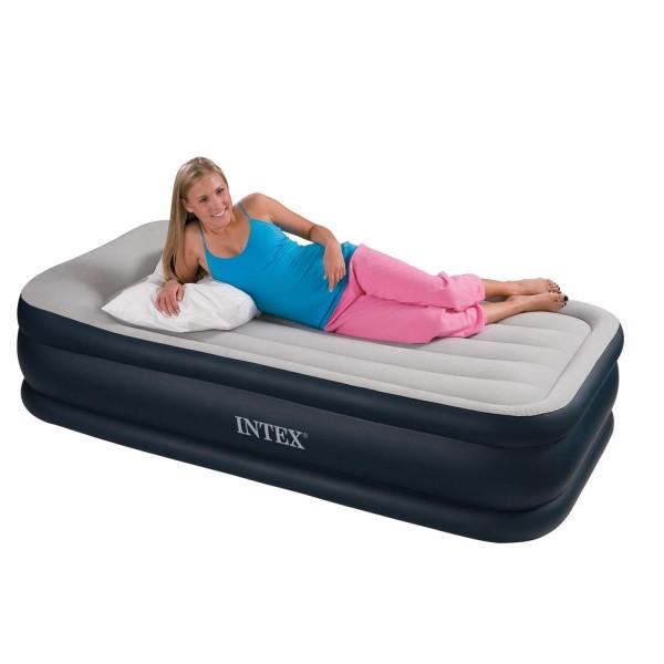 Intex Luftbett mit Pumpe Gästebett Matratze 99 x191x43 cm selbstaufblasend 67732