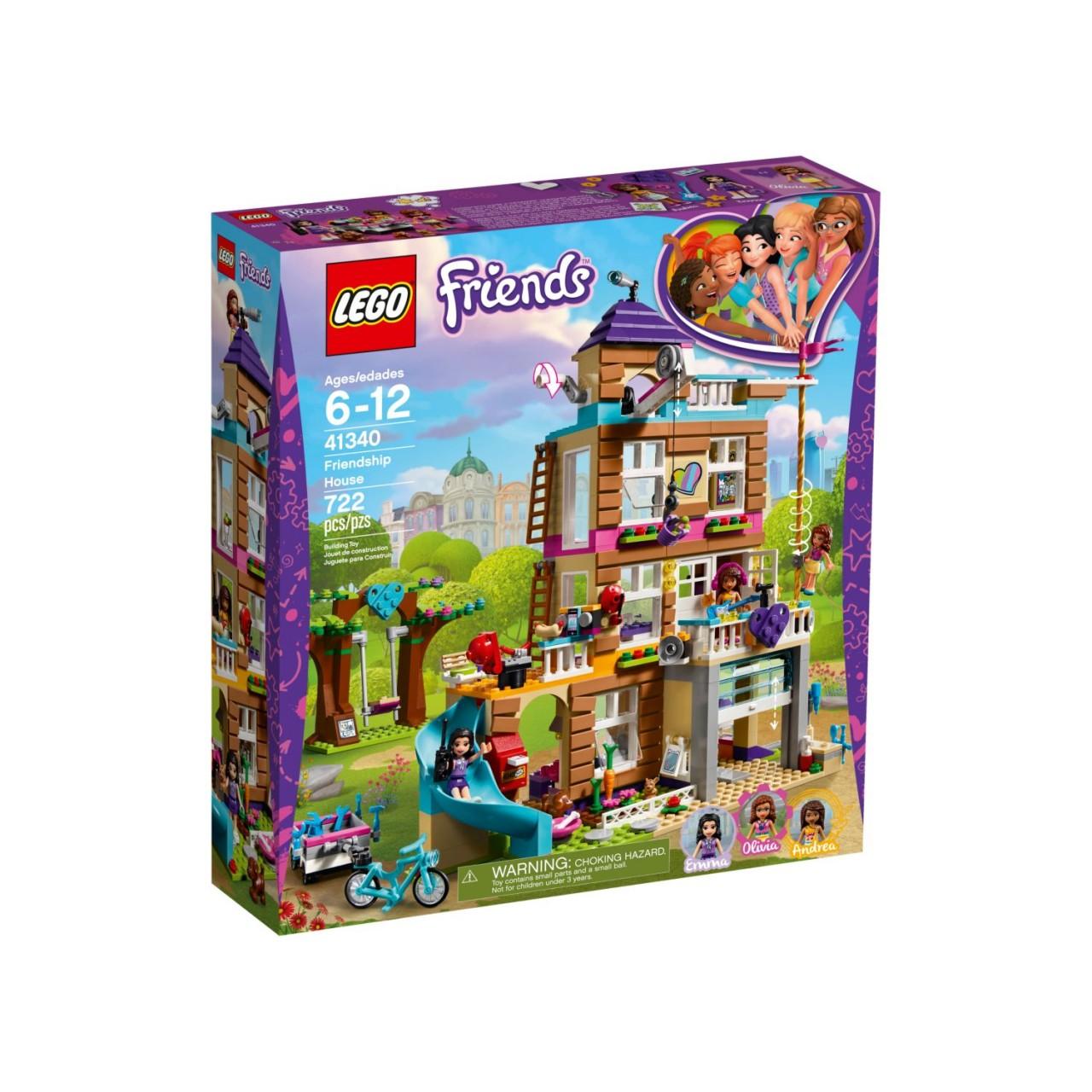 LEGO FRIENDS 41340 Freundschaftshaus