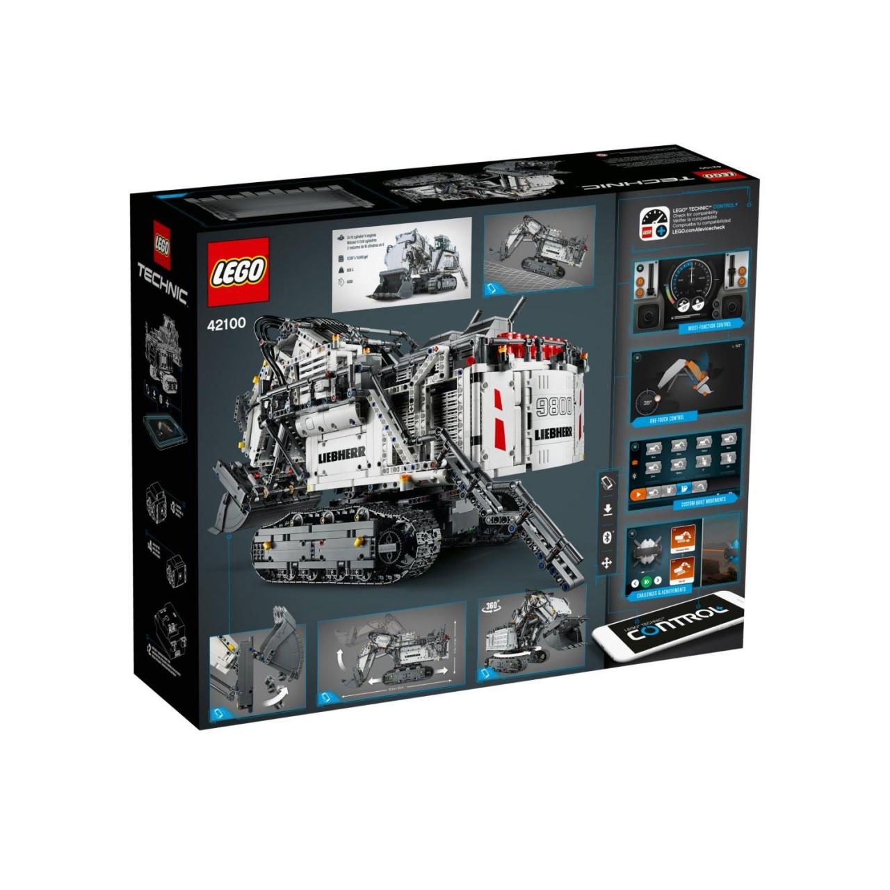 LEGO TECHNIC 42100 Liebherr Bagger R 9800