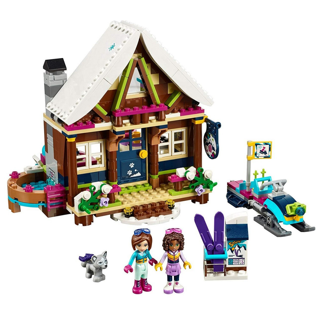 LEGO FRIENDS 41323 Chalet im Wintersportort