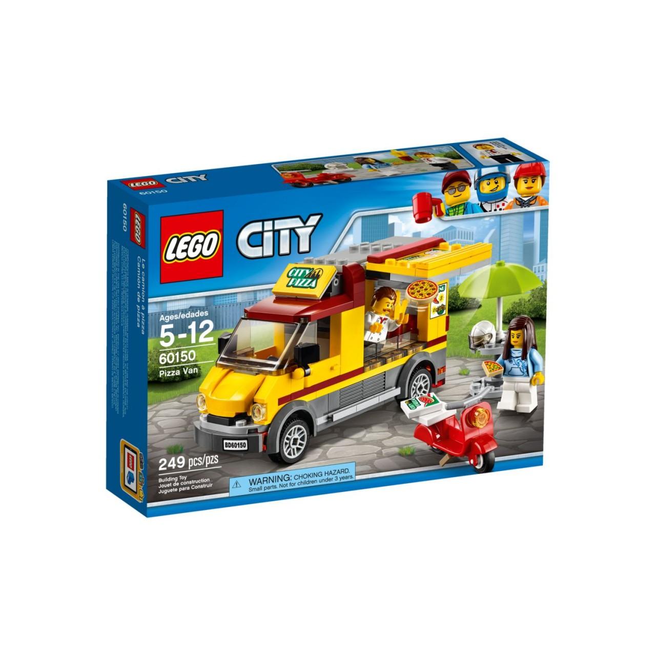 LEGO CITY 60150 Pizzawagen