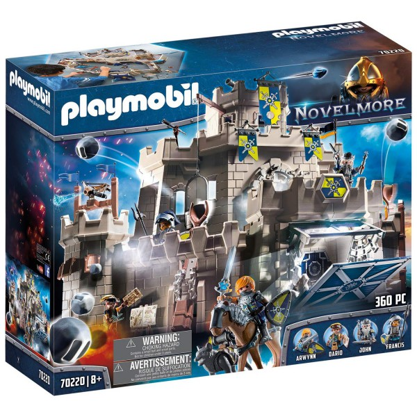 Playmobil Novelmore 70220 Große Burg von Novelmore