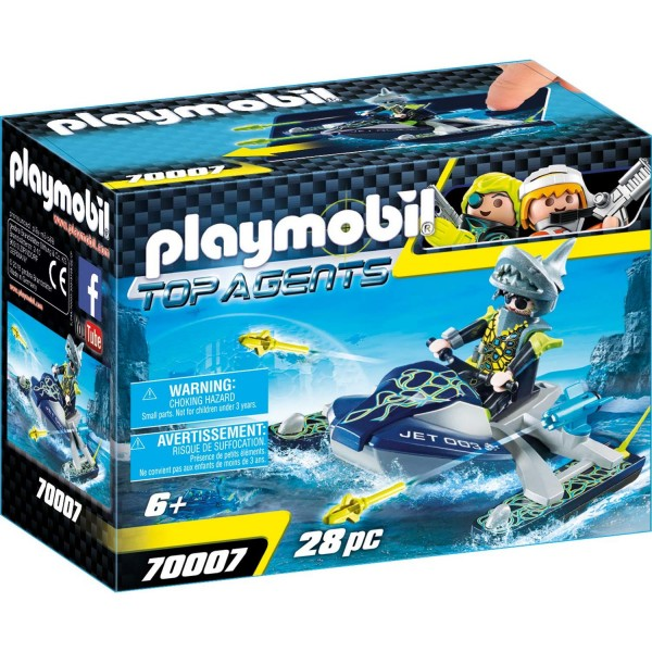 Playmobil 70007 TEAM S.H.A.R.K. Rocket Rafter
