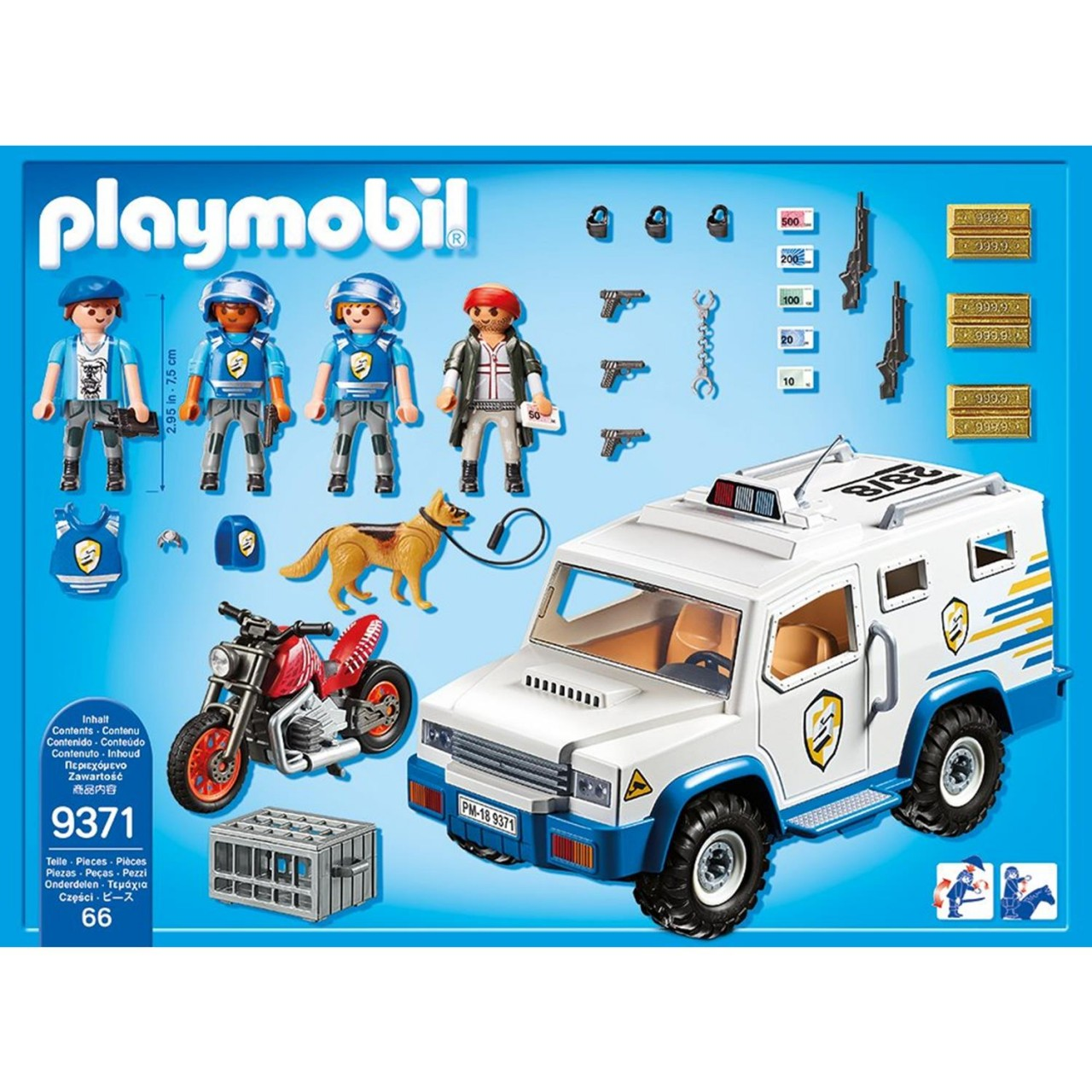 Playmobil 9371 Geldtransporter
