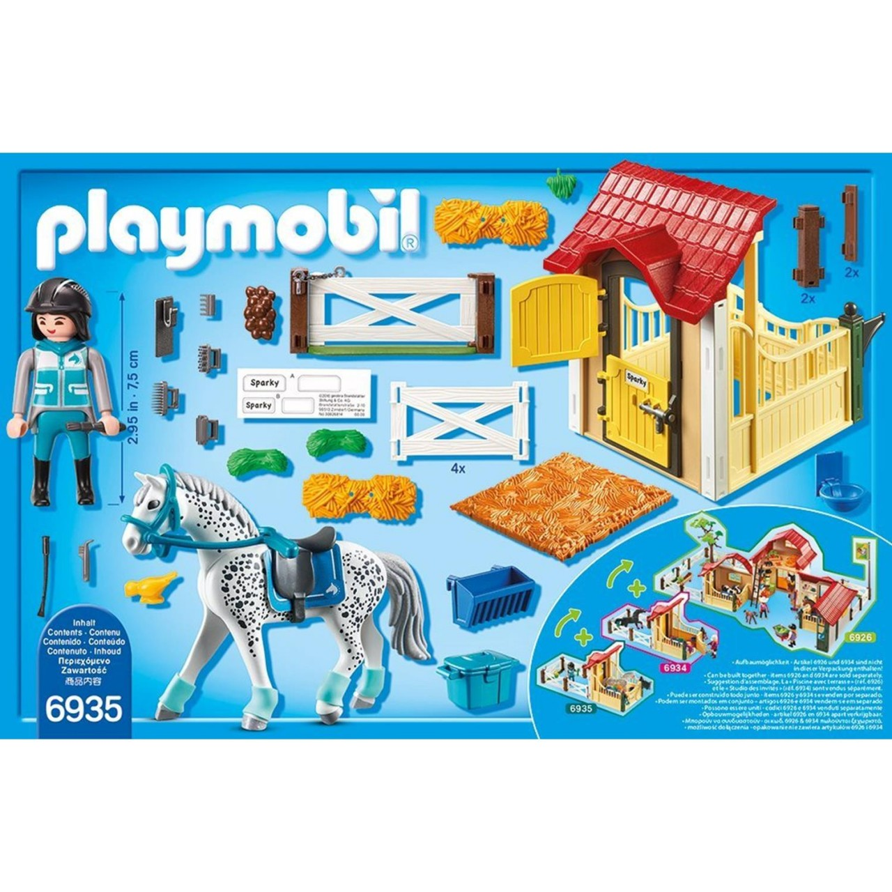 Playmobil 6935 Pferdebox Appaloosa
