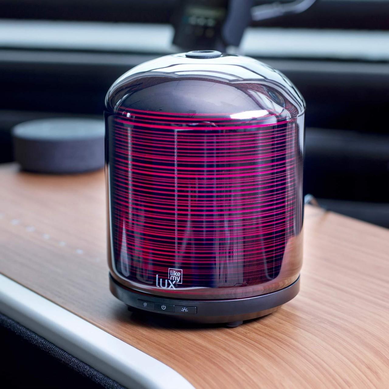 Aroma Diffuser Likemylux 200ml Luftbefeuchter Ultraschall Modern Style Grau