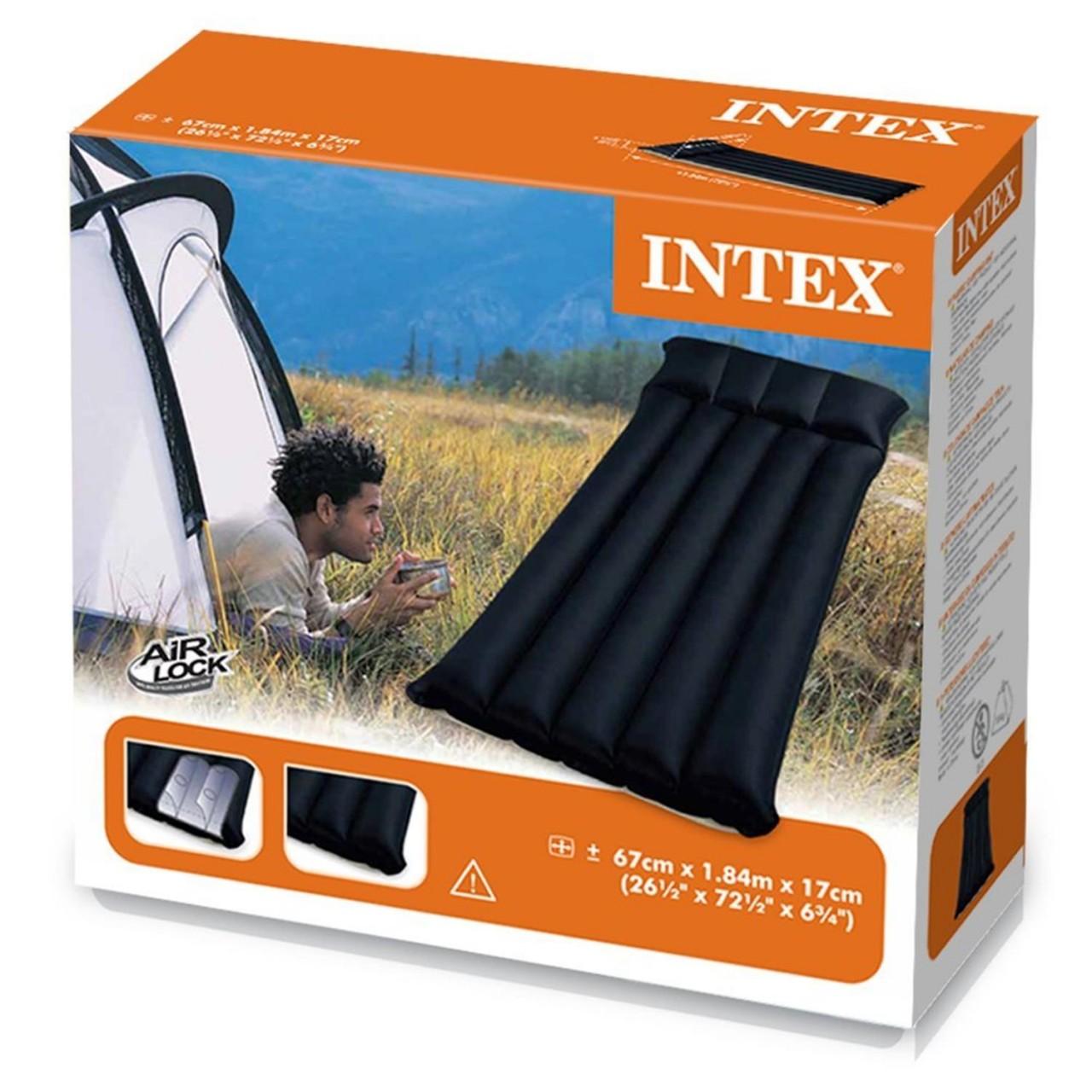 Intex Luftbett Matratze Camping Bett 184 x 67 x 17 cm