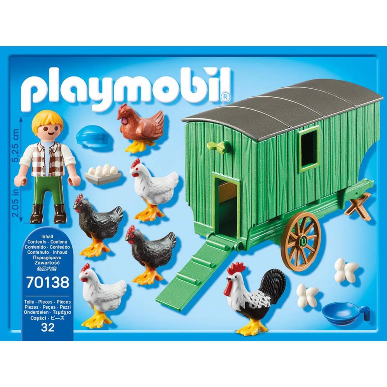 Playmobil 70138 Mobiles Hühnerhaus