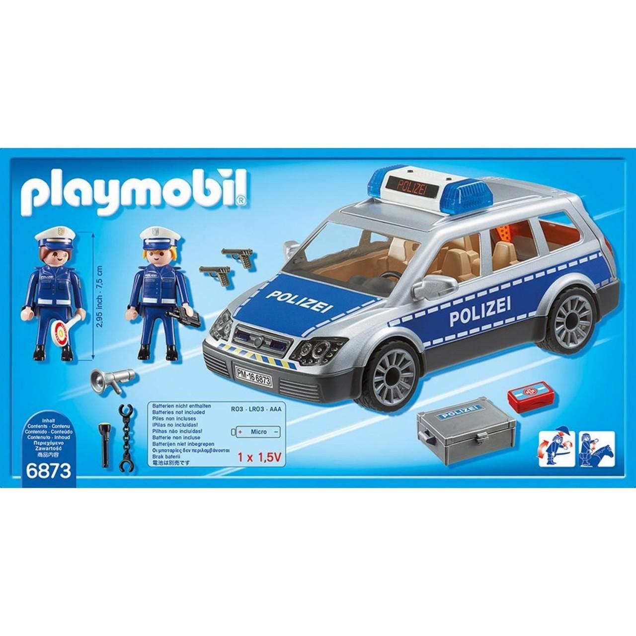 Playmobil 6873 Polizei-Einsatzwagen