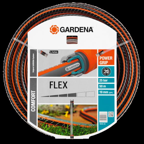 """Gardena 18055-20 Comfort FLEX Schlauch 9x9 19mm (3/4""""), 50m o. A."""
