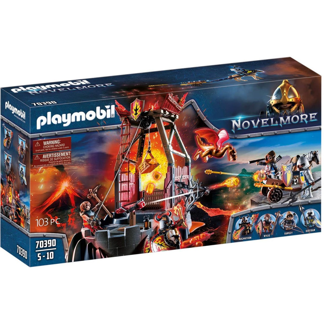 Playmobil 70390 Burnham Raiders Lavamine