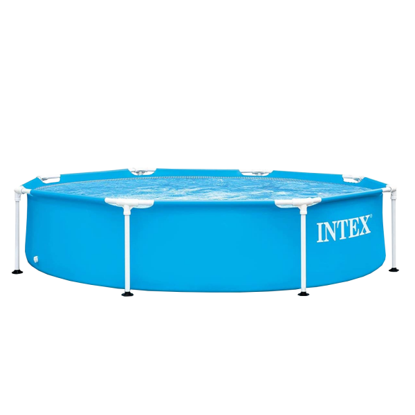 Intex 28205 Frame Swimming Pool Ø244x51cm Aufstellpool Planschbecken Rundpool