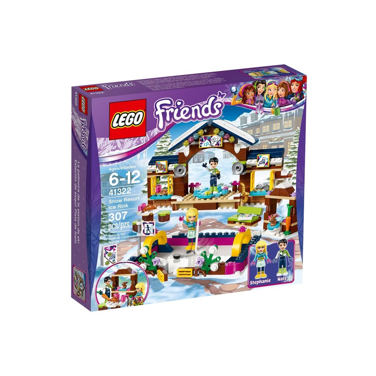 LEGO FRIENDS 41322 Eislaufplatz im Wintersportort