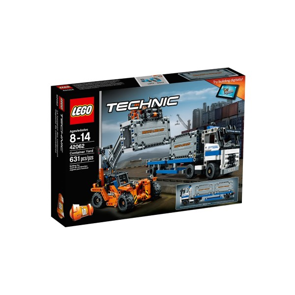 LEGO TECHNIC 42062 Container Transport