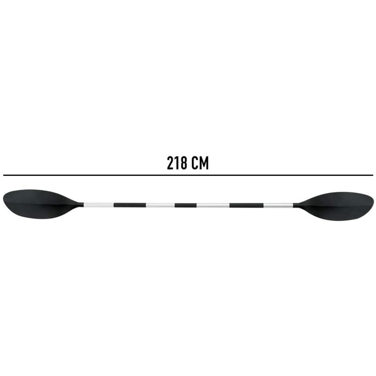 Intex 69629 Kajak Ruder Paddel Paddelset 218 cm Alu-Ausführung