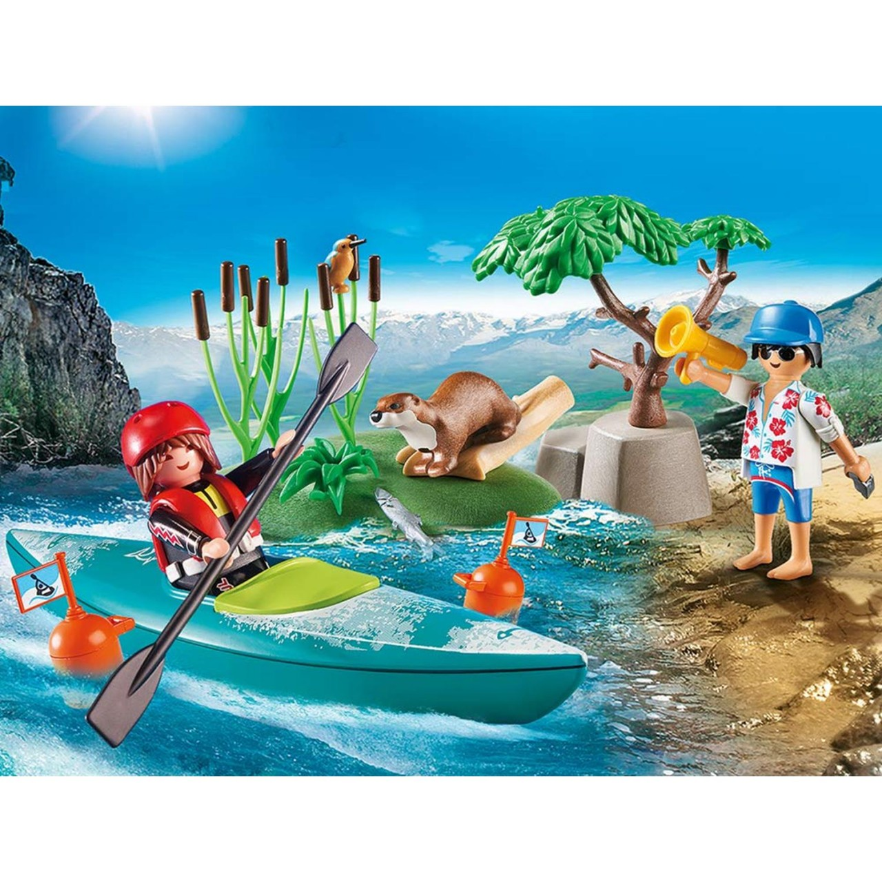 Playmobil 70035 StarterPack Kanu-Training