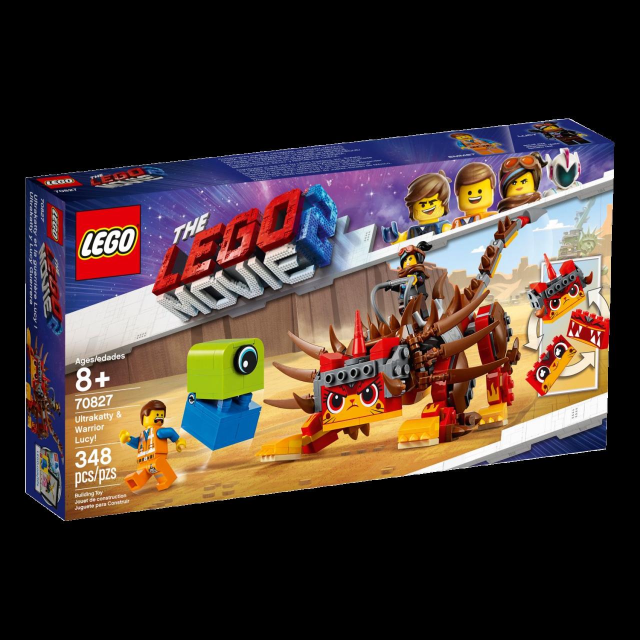 THE LEGO MOVIE 2 70827 Ultrakatty & Krieger-Lucy!