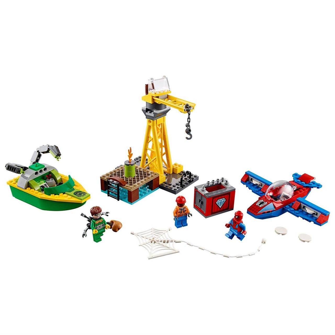 LEGO MARVEL SUPER HEROES 76134 Spider-Man Diamantenraub mit Doc Ock
