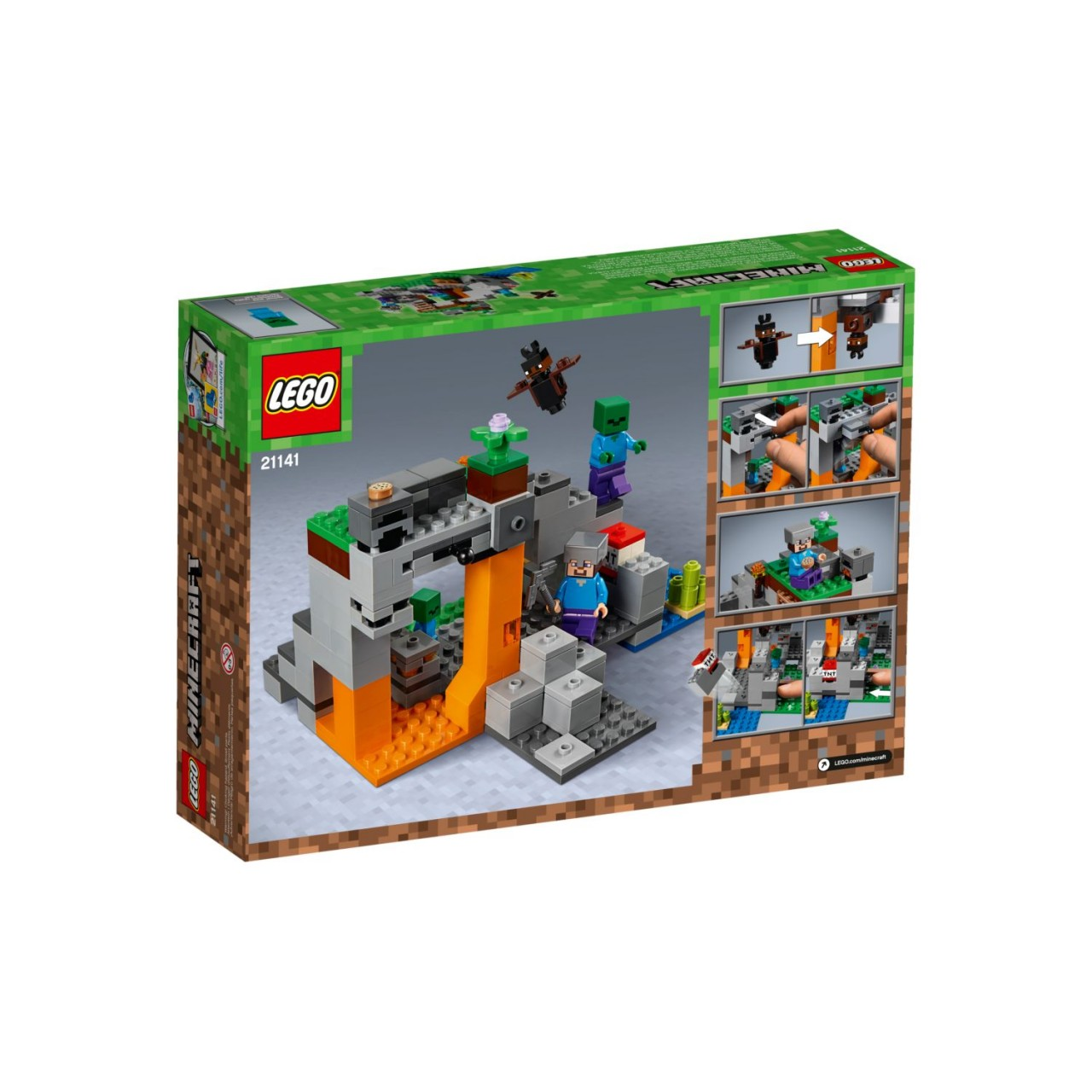 LEGO MINECRAFT 21141 Zombiehöhle