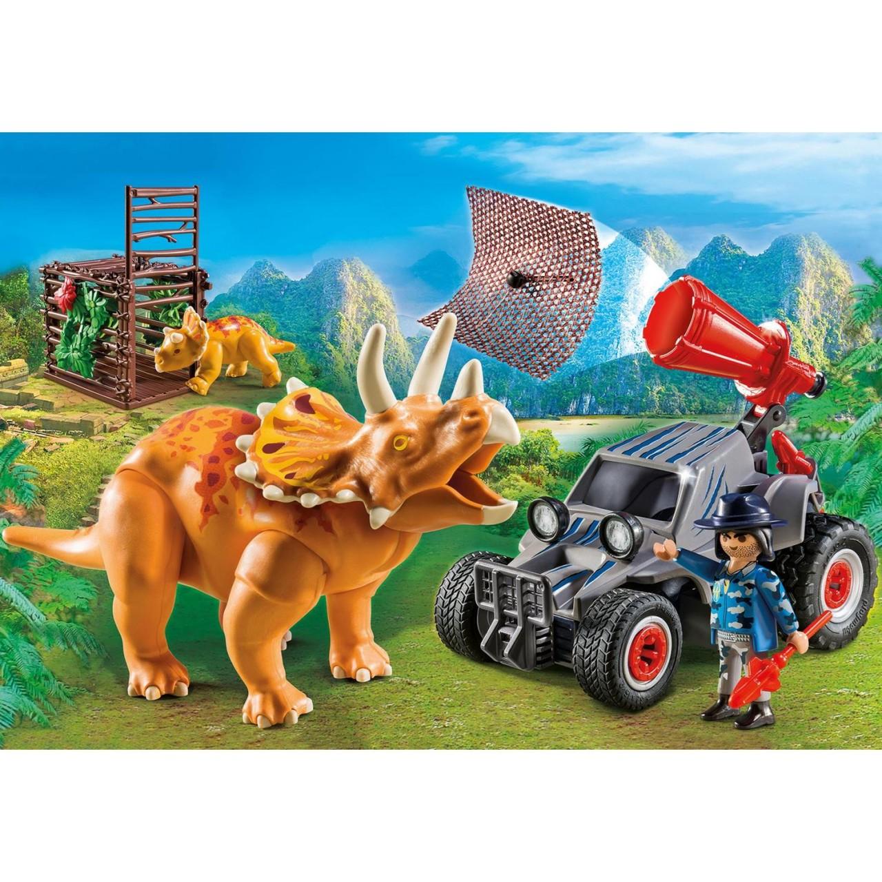 Playmobil 9434 Offroader mit Dino-Fangnetz