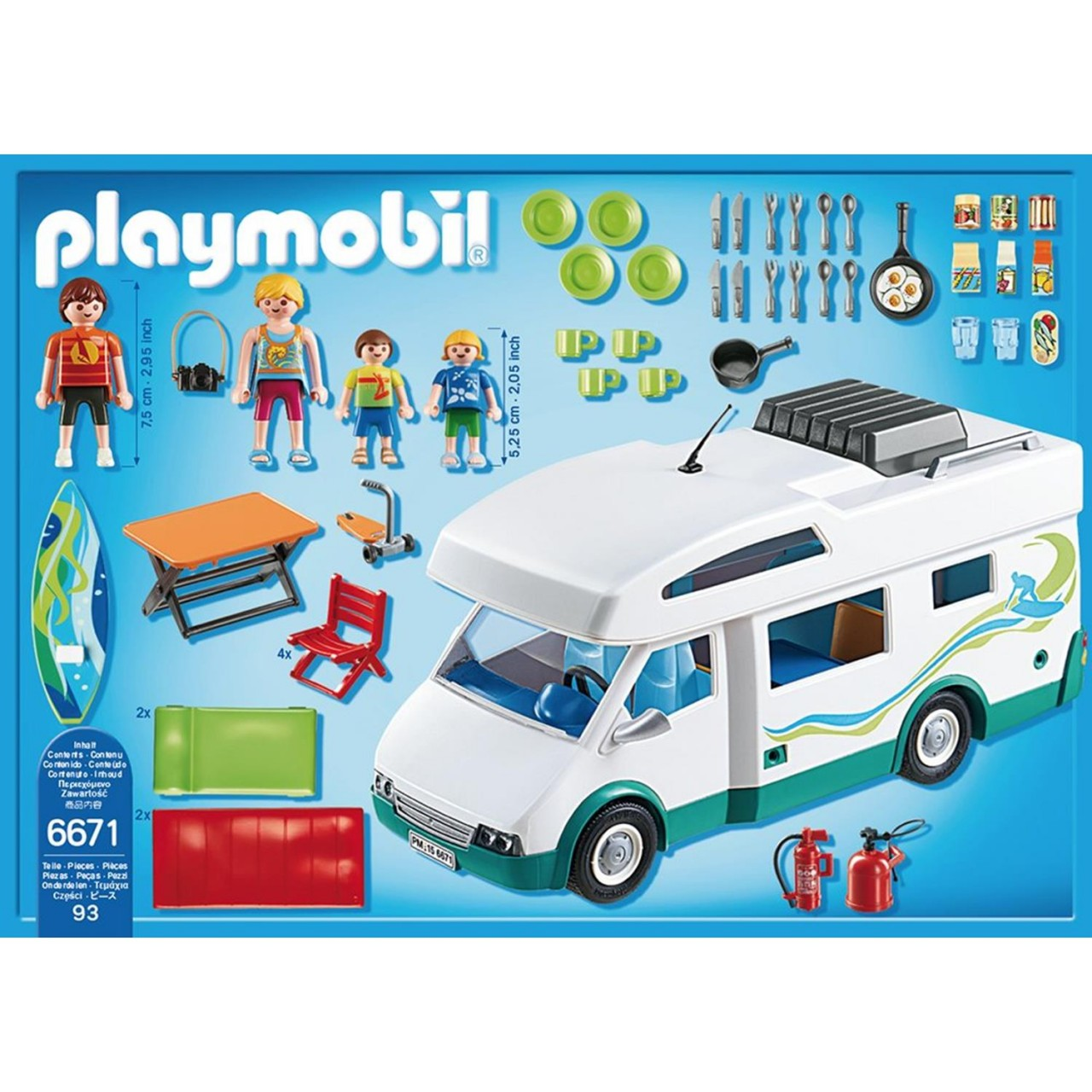 Playmobil 6671 Familien-Wohnmobil
