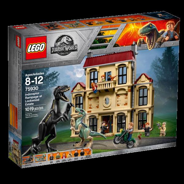 LEGO JURASSIC WORLD 75930 Indoraptor-Verwüstung des Lockwood Anwesens