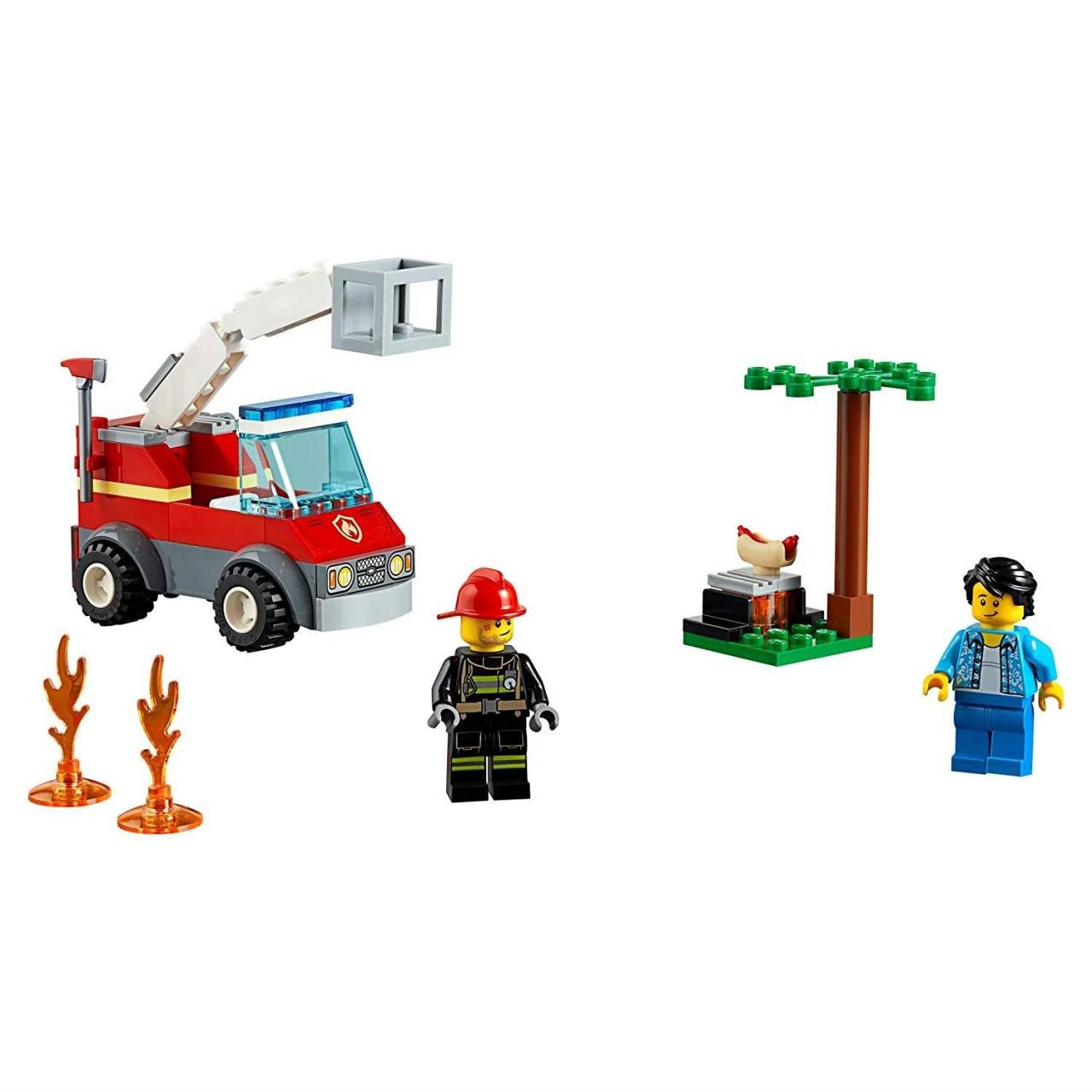 LEGO CITY 60212 Feuerwehr beim Grillfest