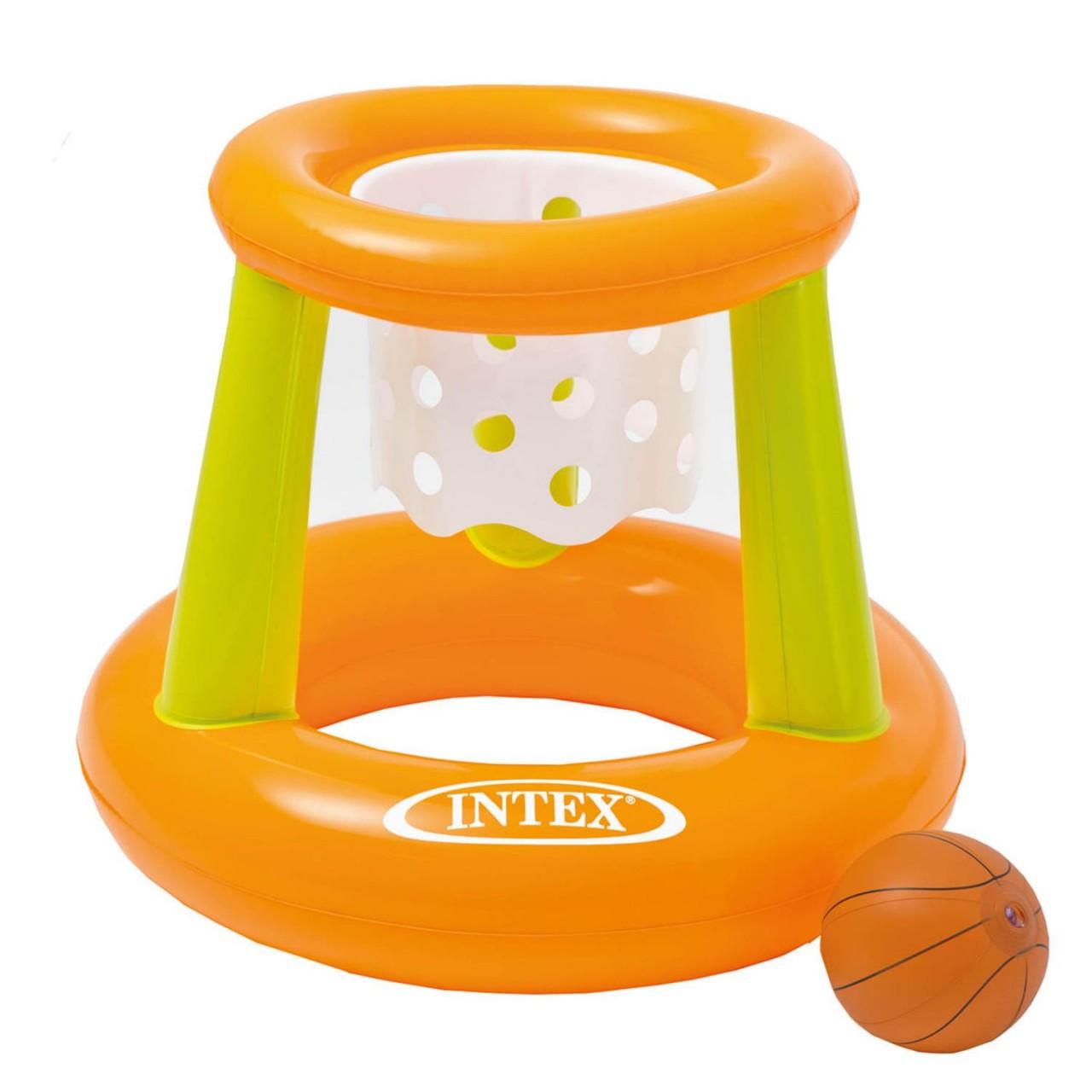 Intex 58504 Wasserspiel Floating Hoops Mehrfarbig 67 x 55 cm