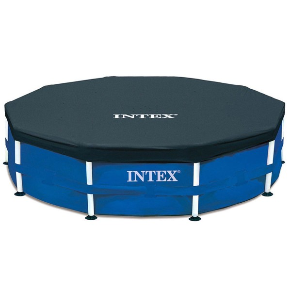 Intex Abdeckplane 305cm Metal Frame Pool Poolabdeckung Poolplane Überhang 28030