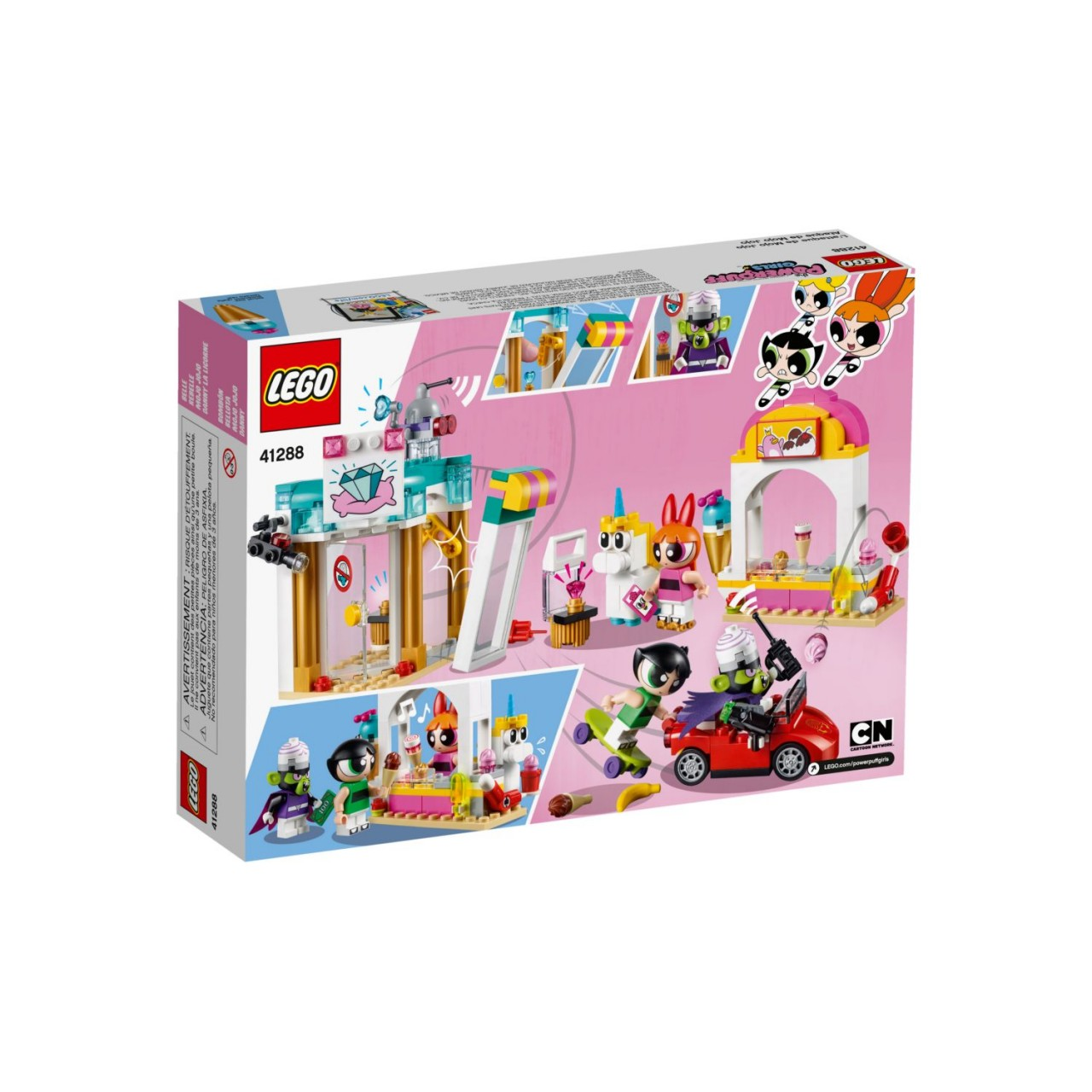 LEGO THE POWERPUFF GIRLS 41288 Angriff von Mojo Jojo